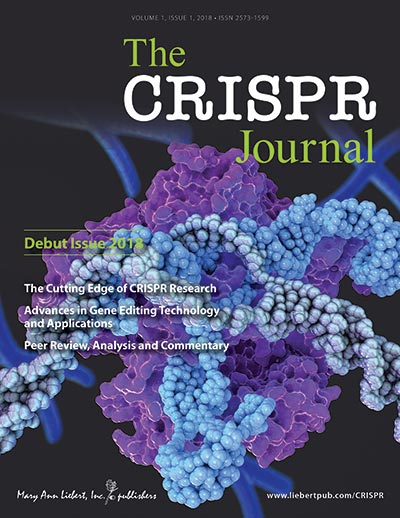 CRISPR Journal Cover