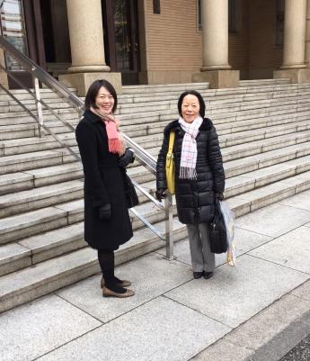 Yoko Okada and Aiko Hosoya from Bureau Hosoya