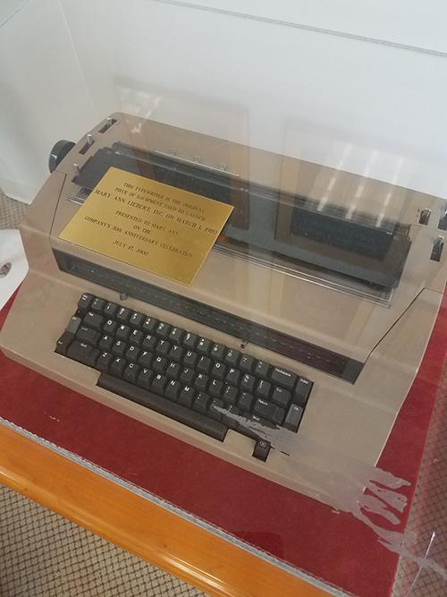 MAL's Typewriter