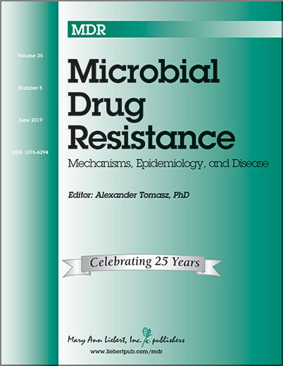 Microbial Drug Resistance Journal Cover