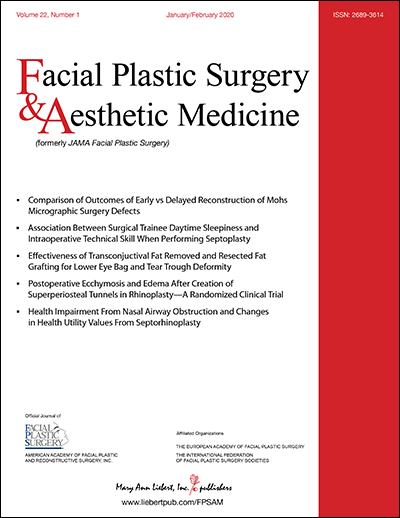 Facial Plastic Surgery and Aesthetic Medicine Cover