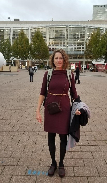 Wendy Newsham at Frankfurt Book Fair